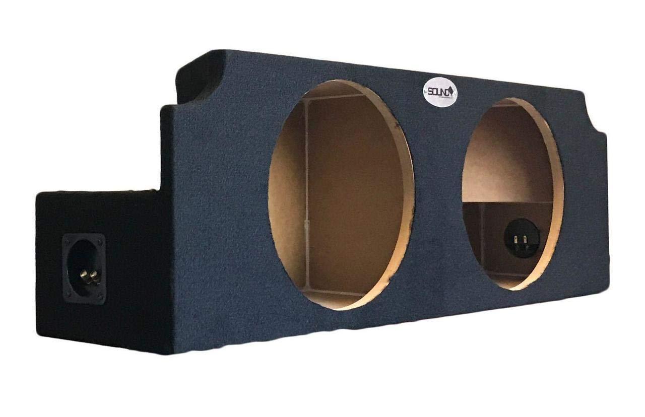 SoundBox 370Z Coupe 2009-2016 Dual 12 Subwoofer Enclosure Sub Box