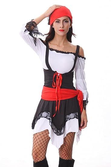 Halloween-Party -Piraten- Kleidung Abendkleid Cosplay Film Füchsin ...