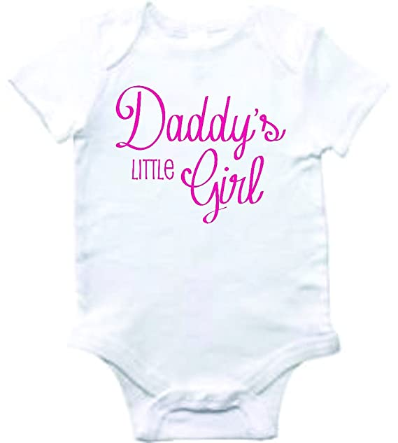 0439e55f0 Baby Clothes daddy's little girl Bodysuit One-Piece Shirt Romper Creeper  Outfit Novelty Romper Boutique