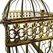 The Soho Chic Birdcage, Dark metal, 14 ½\