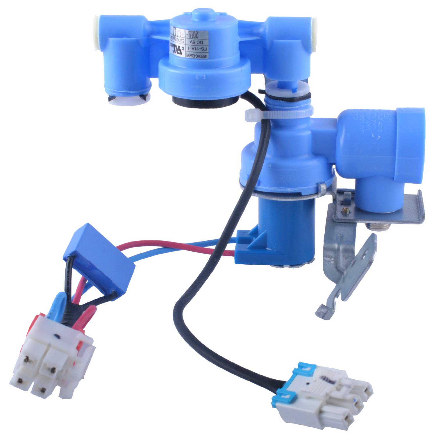 Gekufa AJU72992601 Water Inlet Valve Replacement Compatible with LG Refrigerator Replace 5220JB2009A, AP4671476, 5221JA2011J