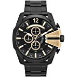 Diesel Men's Chief Analog Analog-quartz Black Watch, (DZ4338)