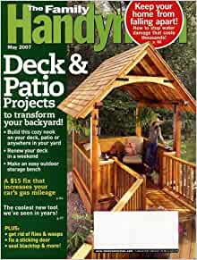 The Family Handyman May 2007 Volume 57 Number 5 Issue