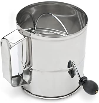 Fox Run Stainless Steel 8 Cup Flour Sifter