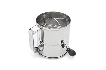amazon com fox run 4655 flour sifter stainless steel 8 cup old rh amazon com