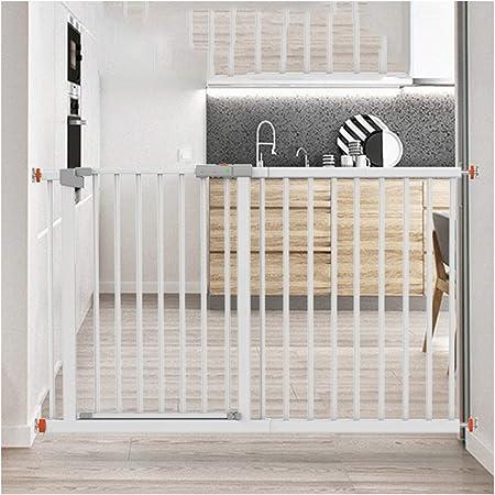 Valla Seguridad Barreras de puerta Telescópica Puerta De La Seguridad Del Bebé for Escaleras De La