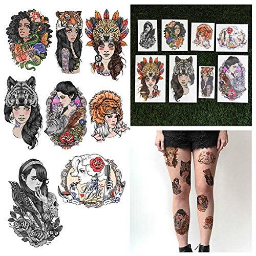 BAG GIRL TATTOOS