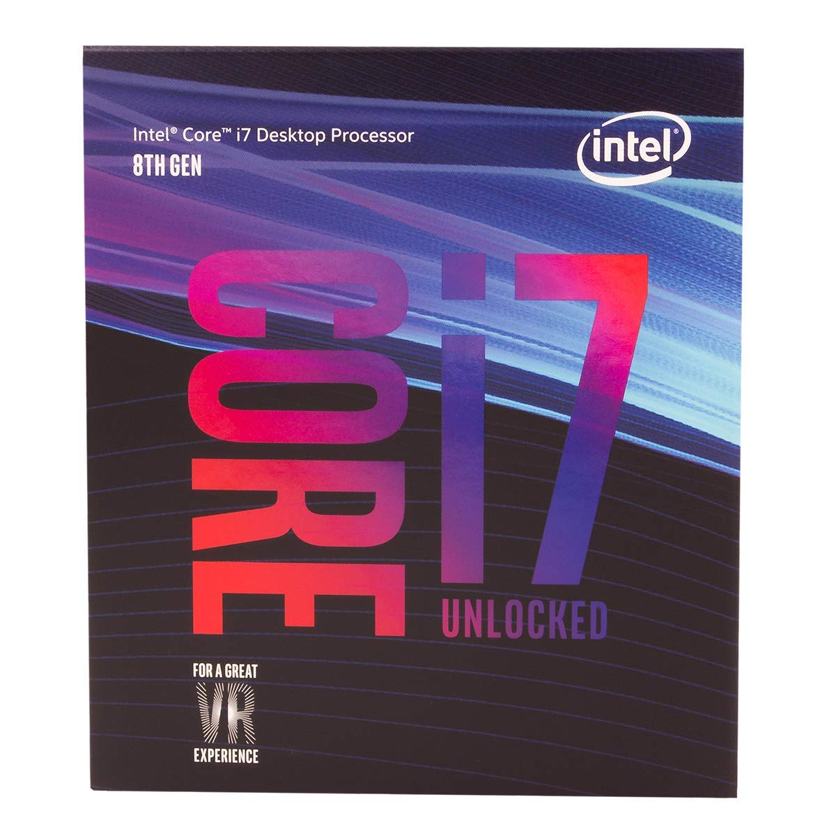 Intel Core i7-8700K Desktop Processor 6 Cores up to 4 7GHz Turbo Unlocked  LGA1151 300 Series 95W