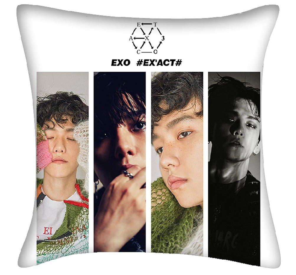 EXO EX act cojín manta almohada 40 cm40 cm: Amazon.es: Hogar