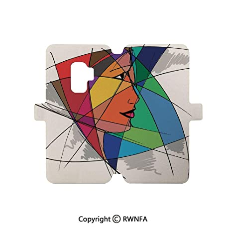 Amazon com: Compatible with Samsung Galaxy S9 Case,Abstract