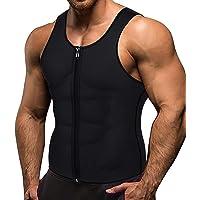 VENAS Men Waist Trainer Vest Weightloss Hot Neoprene Corset Compression Sweat Body Shaper Slimming Sauna Tank Top Workout Shirt