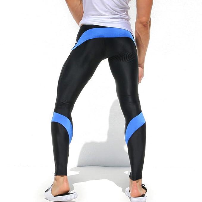 comprare popolare 49af7 f779a iiSport- Pantaloni Aderenti Uomo Corsa Autunno - Inverno Pantaloni ...