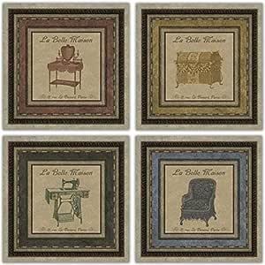 La~Belle Maison mueble para~trunk~para máquina de coser~silla ...