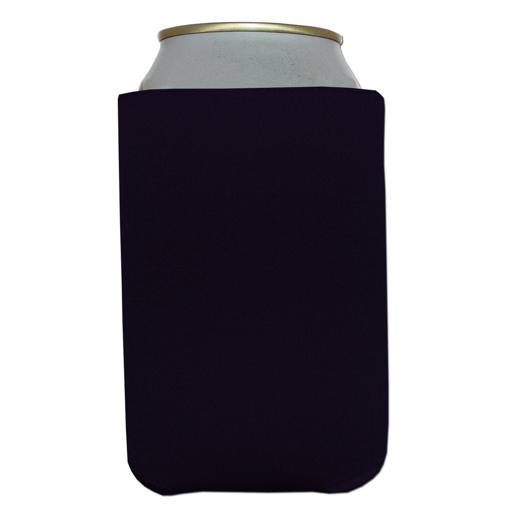 400 Premium Blank Beverage Insulator Can Cooler for Soda and Beer (Black)