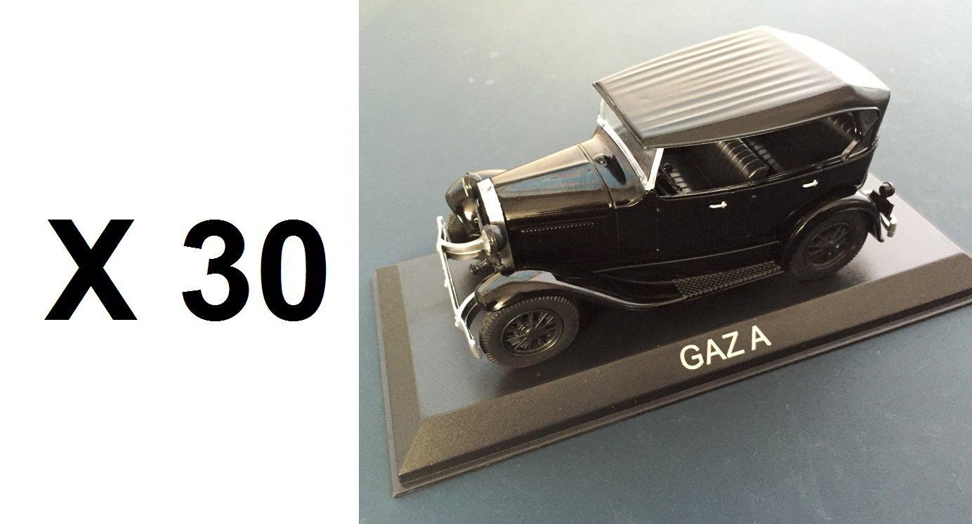 Unbekannt Set von 30 Autos GAZ BA52 A 1/43 IXO IST / Auto Ref: BA52 GAZ 65ddc7