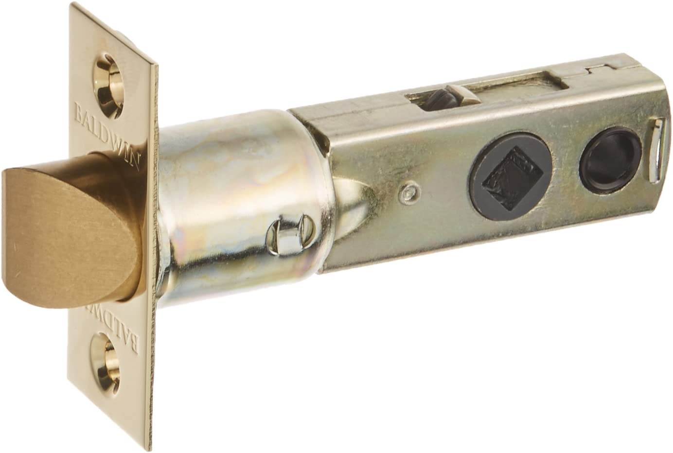Baldwin 5300 Replacement Latch, Lifetime Polished Brass