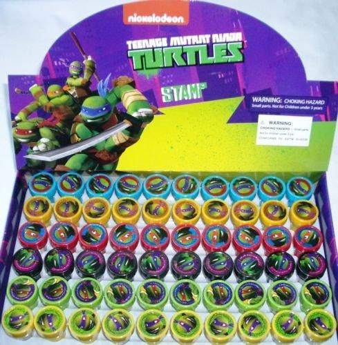 Ninja Turtles TMNT Self-Inking Stamps Stampers Party Favors Fillers