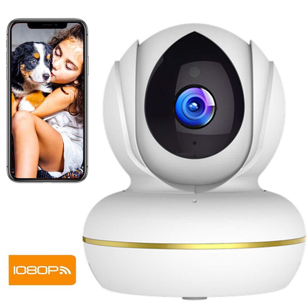 Camara Vigilancia SUPEREYE 1080P Cámara IP, Cámaras de Vigilancia WiFi Interior FHD con Visión Nocturna, Detección de Movimiento, Audio de 2 Vías, Compatible con iOS, Android product image