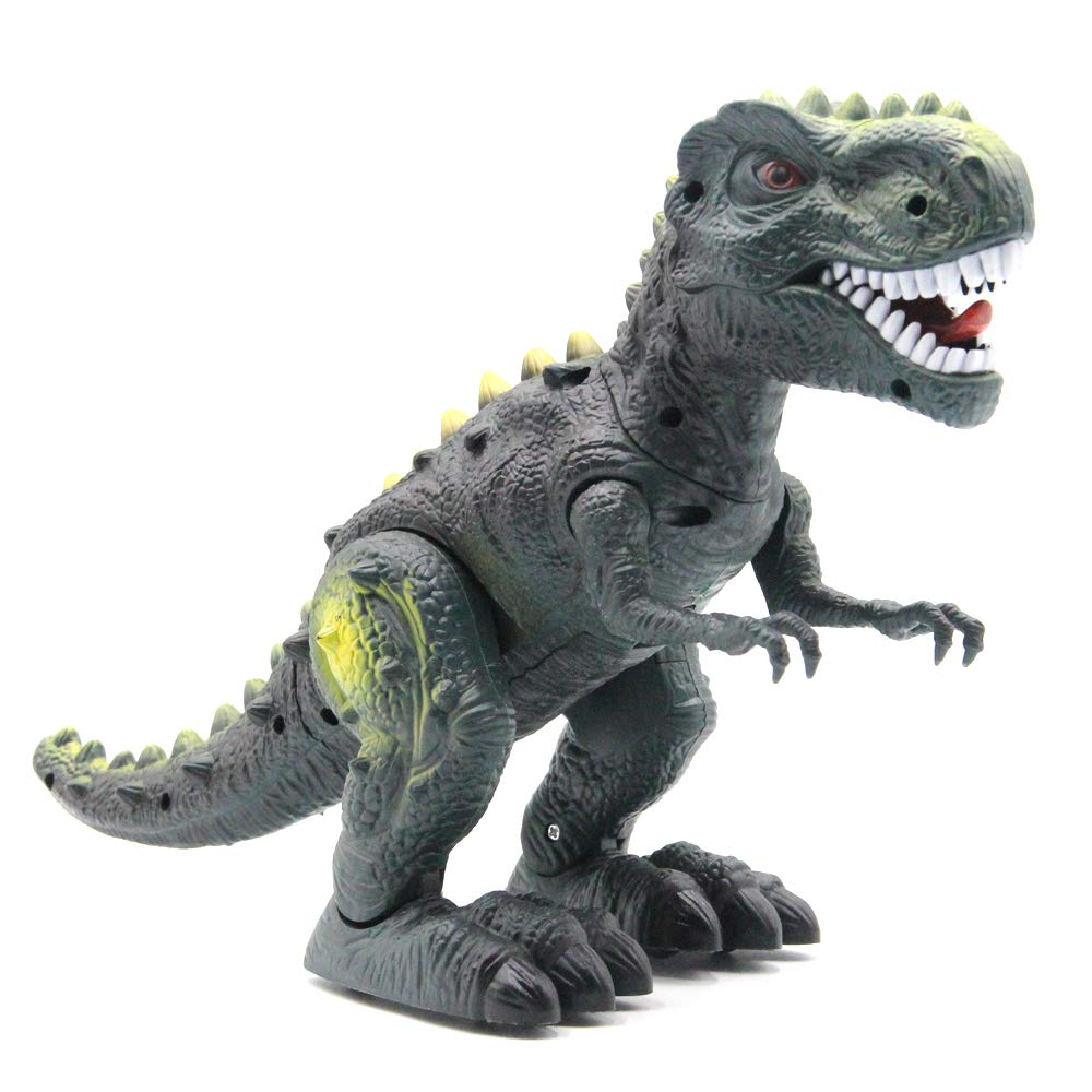 CISAY Dinosaur Toys,D33 Electronic Real Walking Dinosaurs with LED Lights and Dinosaur Sounds by CISAY (Image #2)