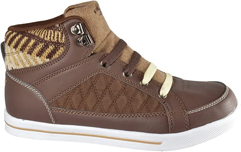 Womens HI TOP Ankle Trainer Boots