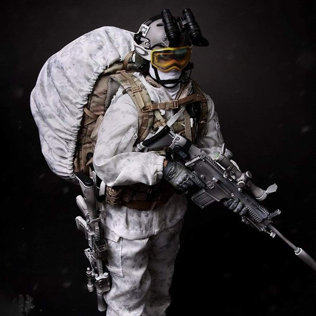 Mini Times Action Figures 1//6 Scale Mummy Sleeping Bag Navy SEAL Winter
