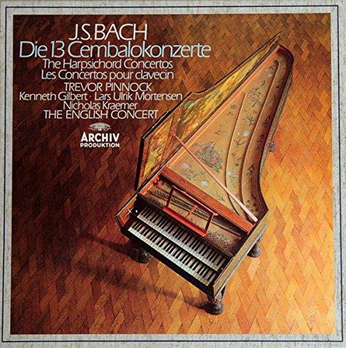 Bach - Die 13 Cembalokonzerte - 4 LP vinyl Box - Trevor Pinnock - Archiv digital R 215351 - Harpsichord Concertos (Digital Harpsichord)
