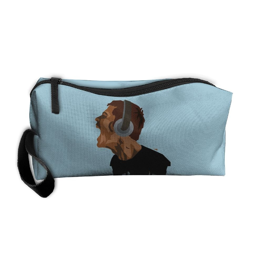 3f1a22b698bc Unisex Handbags Young Rock Music Wearing Headphones Storae Bags ...