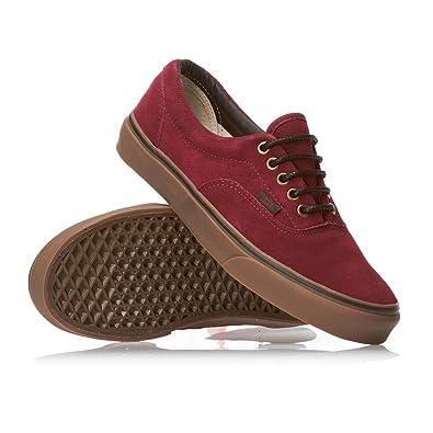 7cb2106d59 Vans Era Shoes Tawny Port Gum - Red Black Gum - 10 UK  Amazon.co.uk  Shoes    Bags