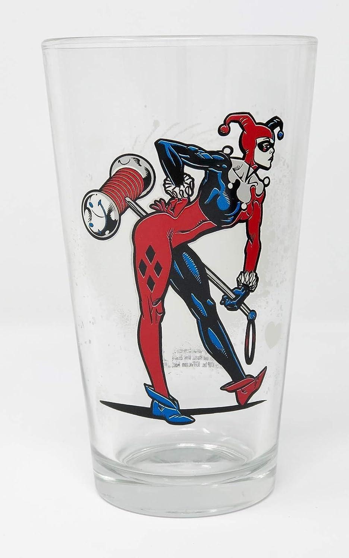 DC Comics Harley Quinn 2 Oz Shot Glasses Set of 4