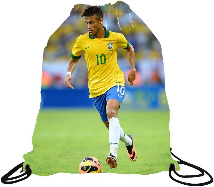 Soccer Backpack Gift Packaging Neymar Jersey Brazil Home Long Sleeve Kids Soccer Jersey Neymar Jr Gift Set Youth Sizes