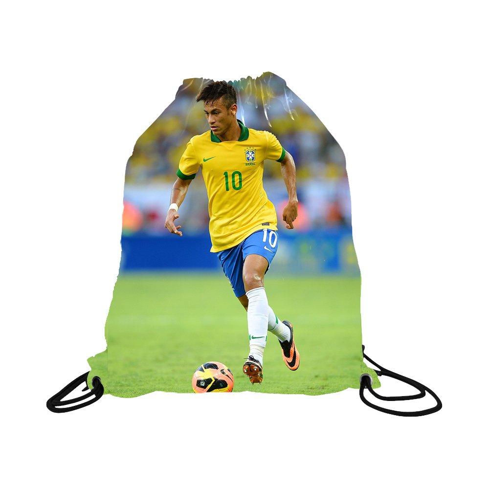 Neymar Jersey Brazil Away Short Sleeve Kids Soccer Jersey Brasil Neymar Jr Soccer Gift Set Youth Sizes ✓ Premium Quality ✓ Soccer Backpack Gift Packaging