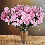 144-Wholesale-Artificial-Silk-Amaryllis-Flowers-Wedding-Vase-Centerpiece-Decor-Pink