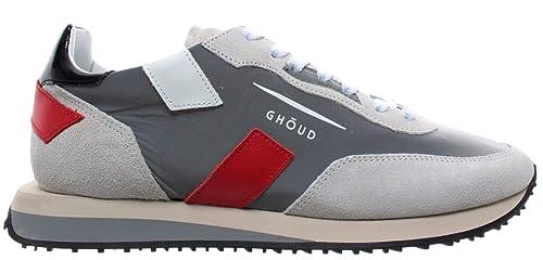 GHOUD Venice Herren Schuhe Sneakers Niedrig Wildleder Grau
