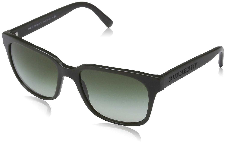 Amazon.com: Burberry – Gafas de sol, Color 4140/marco: Verde ...
