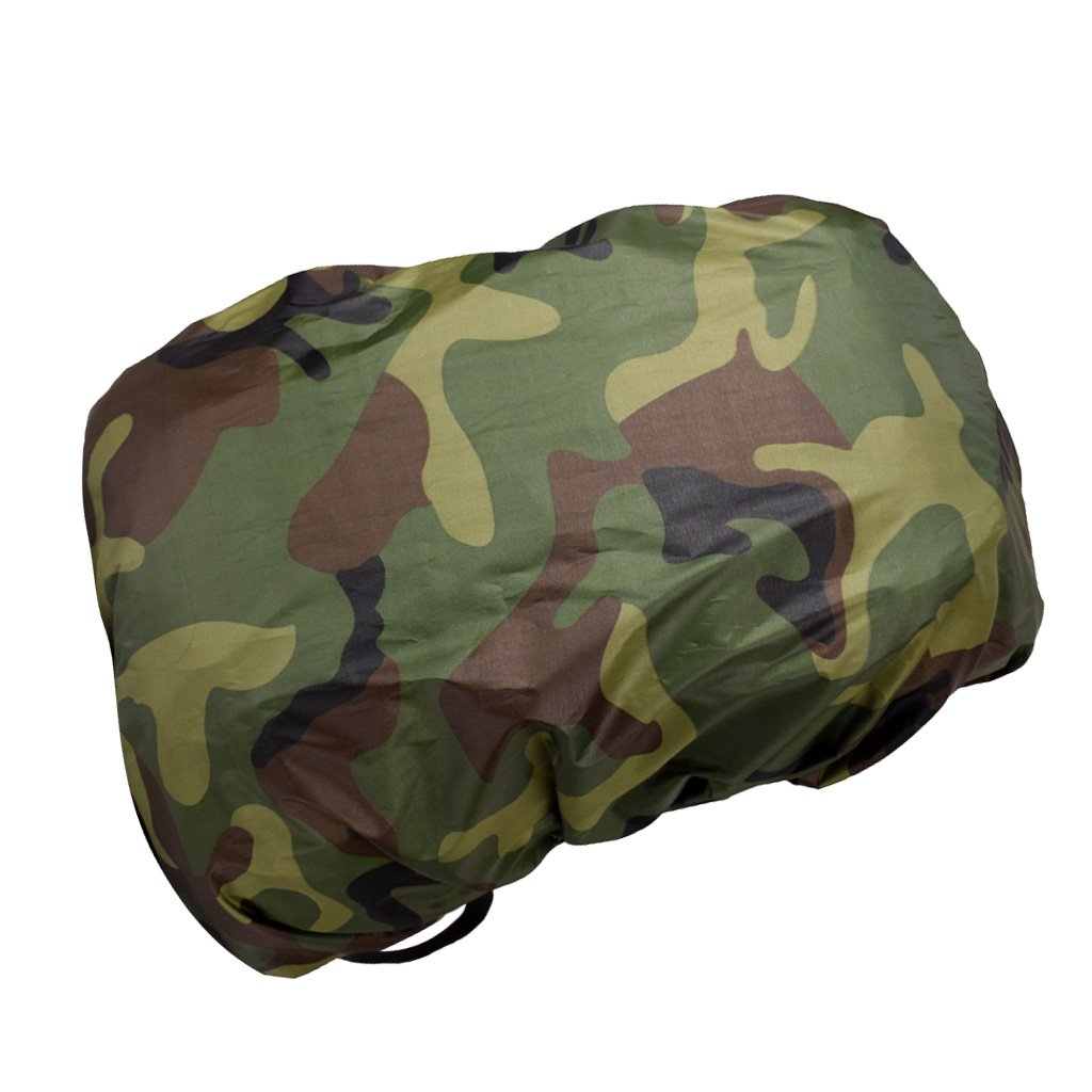 MagiDeal Travel Camping Hiking Camouflage Rucksack Backpack Bag Dust Waterproof Rain Cover Poncho - Camo6 0579010620010ITA