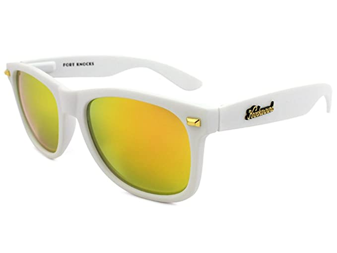 Gafas de sol Knockaround Fort Knocks Matte White / Sunset