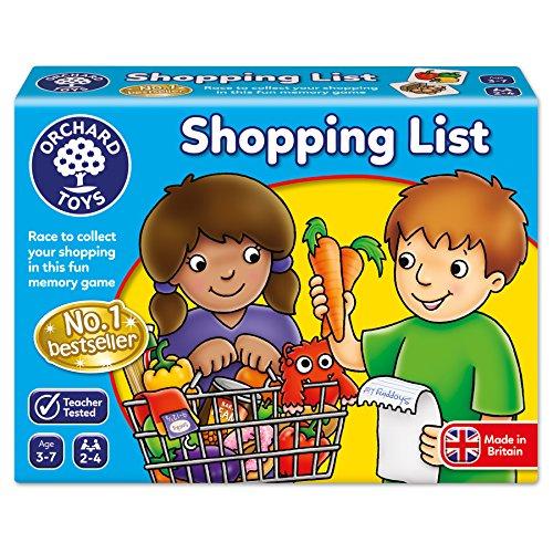 Shopping List Memory Game (Life Game Kids)