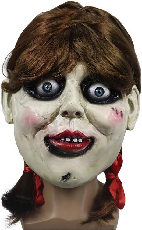 YUN Mask@ Novedad de Látex de Caucho Horror Espeluznante Cabeza ...