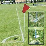 Alumagoal Soccer Corner Flag Set