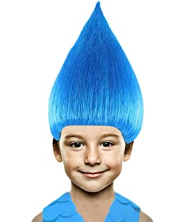 Halloween Party Online Colorful Troll Wig Collection