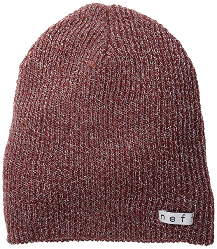 NEFF Women's Daily Sparkle Beanie, Maroon, One Size - Sparkle Hipster