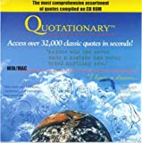 Quotationary : Over 32,000 Quotes on One CD-Rom