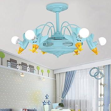 Led Negativ Ionen Deckenventilator Licht Kinderzimmer Ventilator Licht  Kinderzimmer Kronleuchter Jungen Und Mädchen