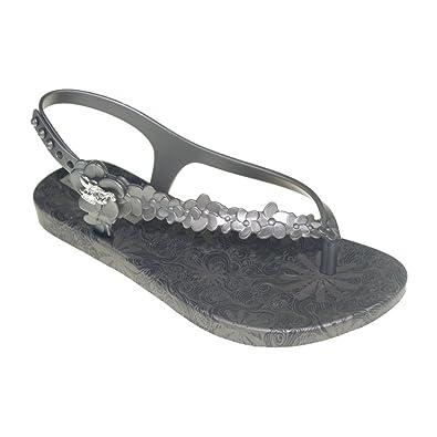 ebbea428709f Ipanema GISELE BÜNDCHEN - Sandal FLOWERS SAND KIDS - 80578 - black silver