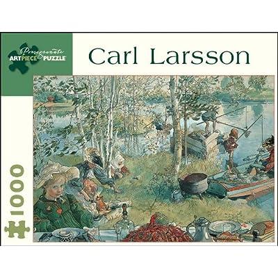 Carl Larsson - Crayfishing: 1,000 Piece Puzzle (Pomegranate Artpiece Puzzle): Larsson, Carl: Toys & Games