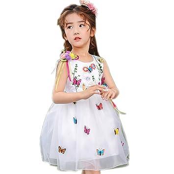 Wgwioo Kindergarten Chor Prinzessin Kinder Kleidung Blumen