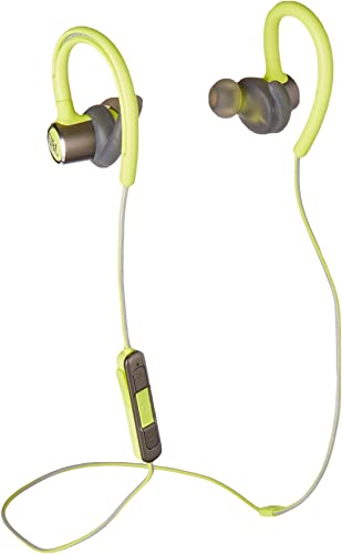 JBL Reflect Contour 2.0, Secure Fit, in-Ear Wireless Sport Headphone with 3-Button Mic Remote – Green