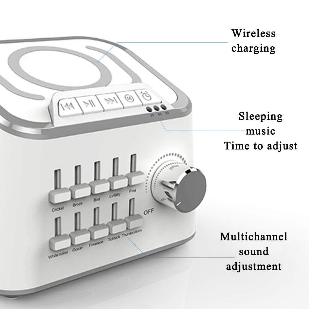 Sleep Machine Hylotele BT 3.0 Hifi USB Cable Sound Speaker 3 Kinds Time Setting Baby Comfort Machine Sleep Quality Enhancer 10 Natural Sounds Optional