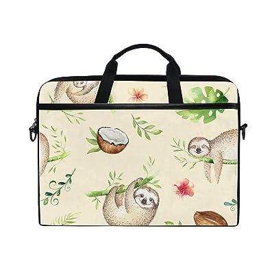 AHOMY Cartoon Baby Sloth Tree 15 Inch Laptop Shoulder Sleeve Messenger Bag Case