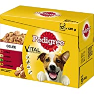 Pedigree Hundenahrung Adult 289933 in Gelee 100g sortiert 12 St./Pack.